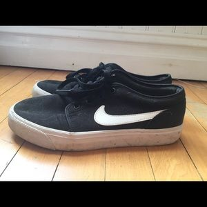 Nike SB Charge Canvas Black